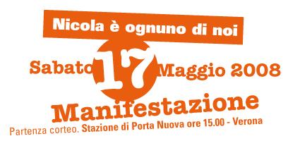 Verona, Corteo Antifaschisti 17. Maggio '08